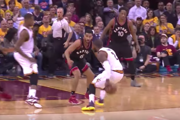 Kyrie Irving, Cavs Blowout Raptors In Game 1