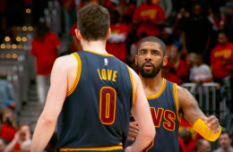 Kyrie Irving Helps Cavs Complete Hawks Sweep
