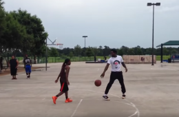 Patrick Beverley Destroys Kid 1-on-1