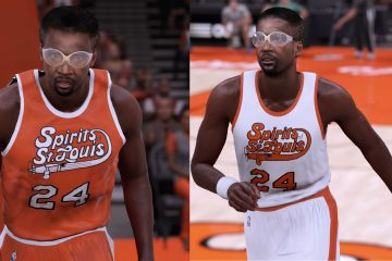 Spirits of St. Louis NBA 2K16 Uniforms