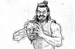 Steven Adams Draymond Green Headhunter