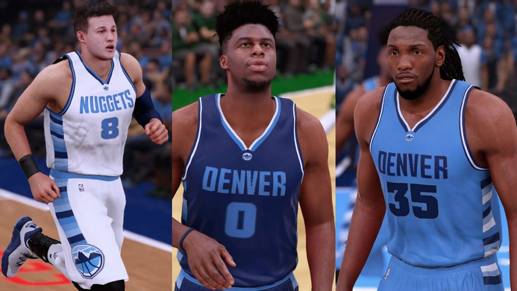 Every NBA 2K16 Team Redesigned