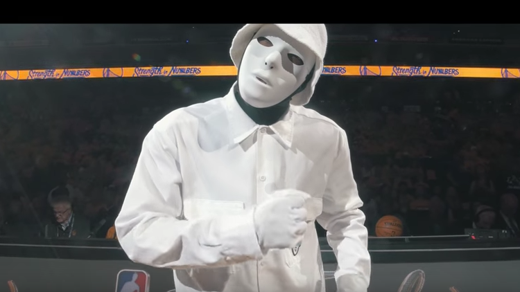 JABBAWOCKEEZ 2016 NBA Finals Performance