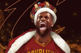 LeBron James Wrath of the King Illustration