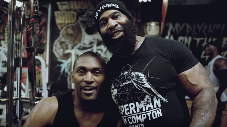 Metta World Peace x CT Fletcher Armtrocity Workout