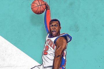 Nate Robinson KryptoNate Illustration