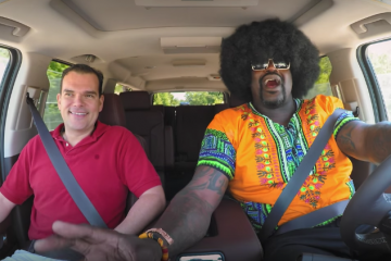 Shaquille O'Neal Goes Undercover with Lyft
