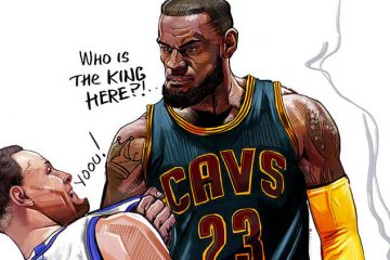 LeBron James King Bully Sketch