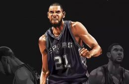 Tim Duncan Goodbye Illustration