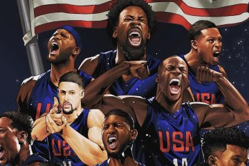 Team USA Squad Illustration
