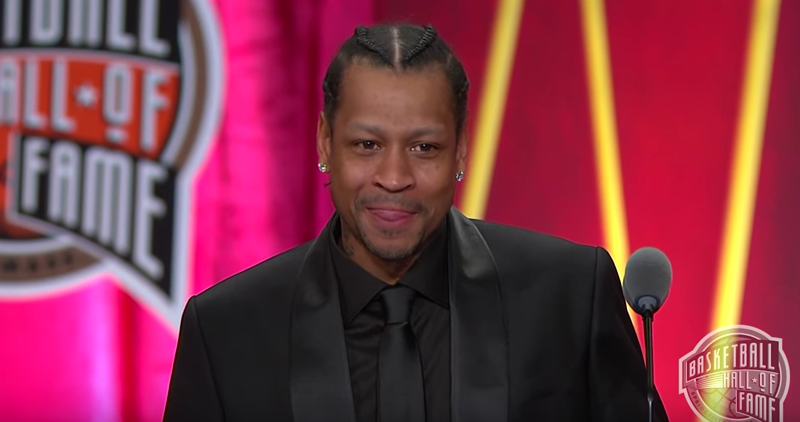 Allen Iverson Basketball Hall of Fame Enshrinement Speech