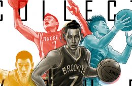 Jeremy Lin 'Collect Your Strength' Illustration