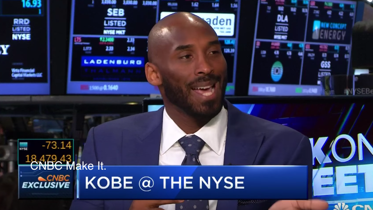 Kobe Bryant Discusses His Venture Capital Fund