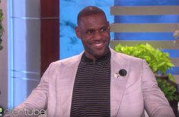 LeBron James Takes On Ellen