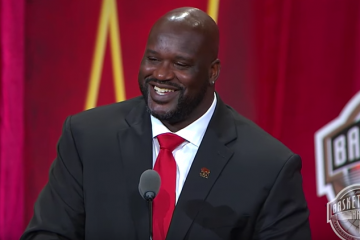 Shaquille O'Neal Basketball Hall of Fame Enshrinement Speech