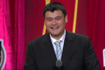 Yao Ming Basketball Hall of Fame Enshrinement Speech