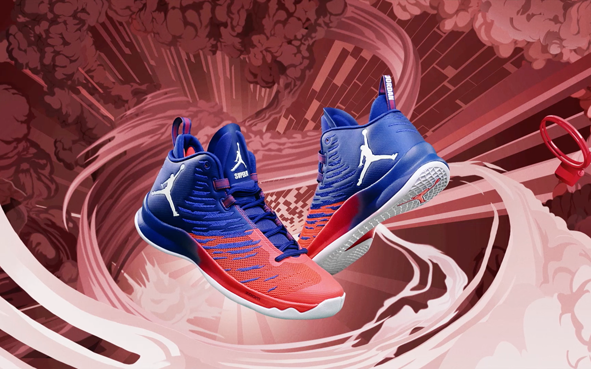 Blake Griffin Jordan Super.Fly 5 x James Roper