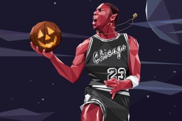 Michael Jordan x Halloween Illustration