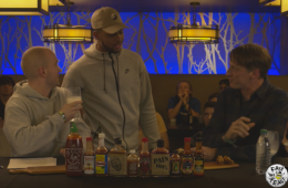 D'Angelo Russell Drops In On Tony Hawks Eating Wings