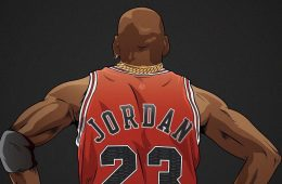 Michael Jordan Six Rings x Two Chains Illustration