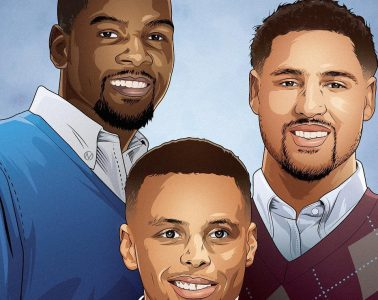 Splash Brothers Family Illustration
