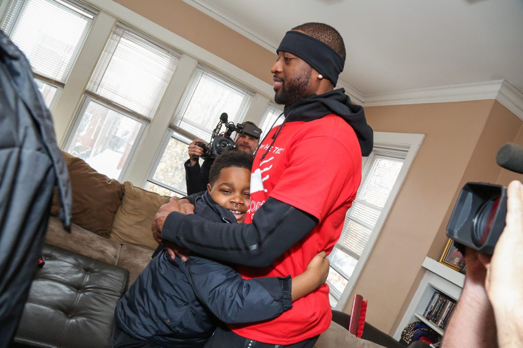 Dwyane Wade x Bulls Extreme Home Makeover