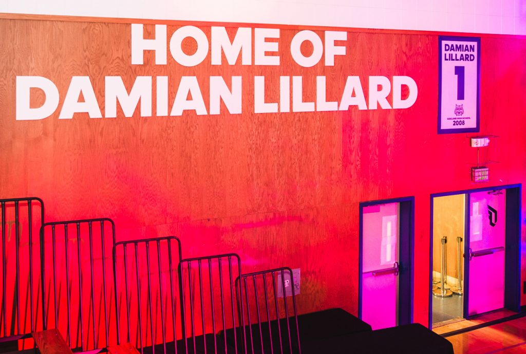 Damian Lillard Upgrades Oakland HS Facilities