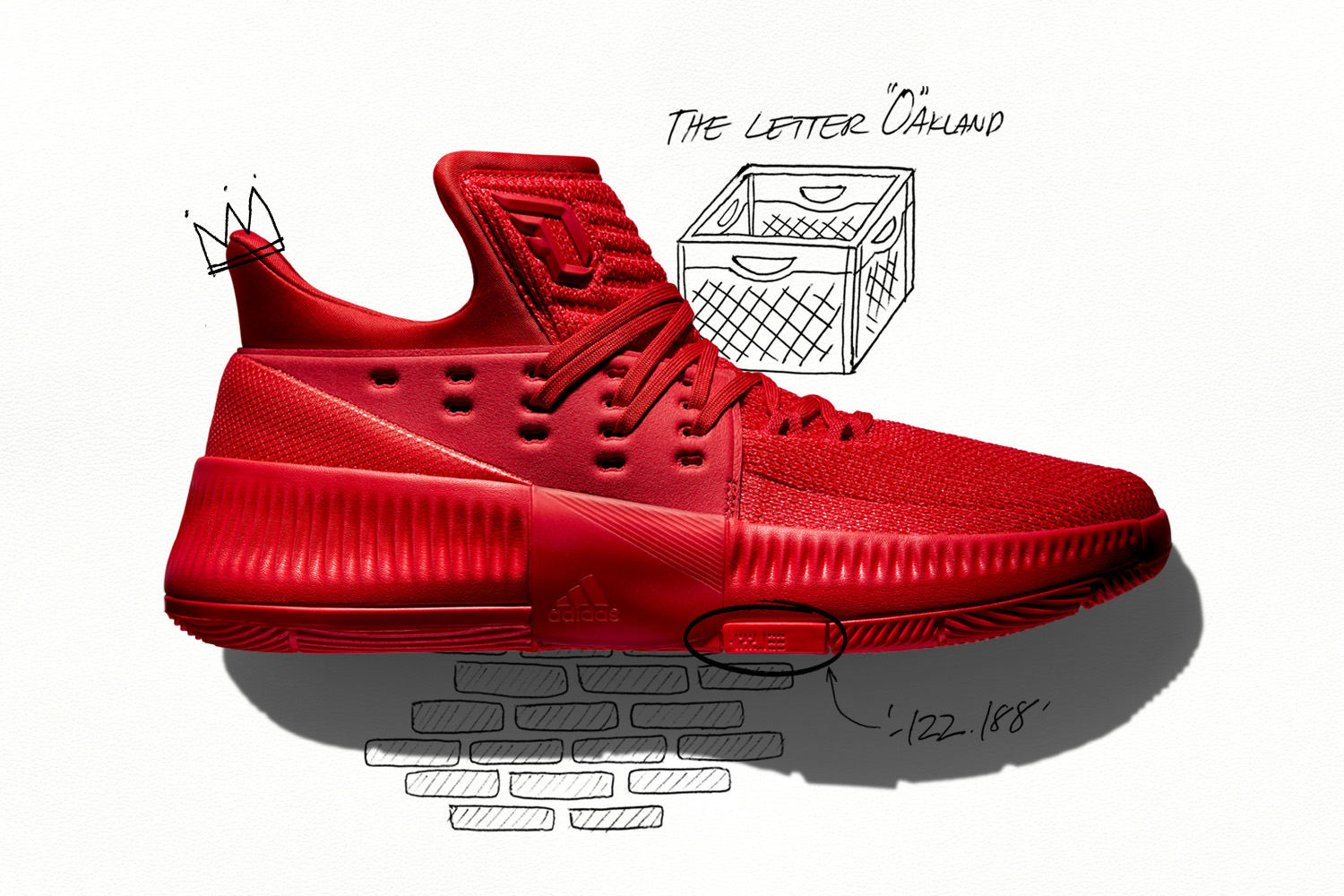 adidas and Damian Lillard Press Play on Dame 3
