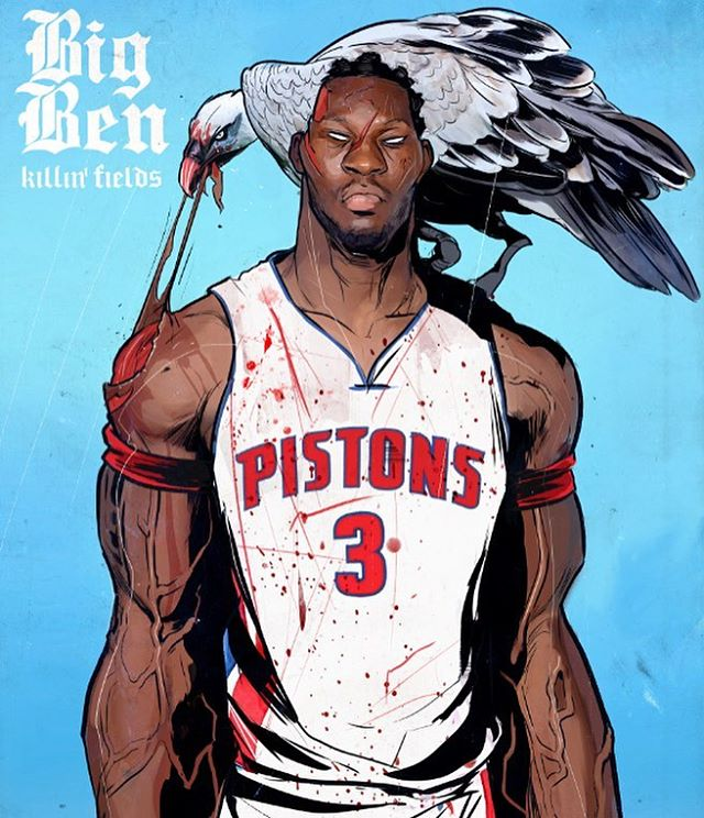 Ben Wallace Killin' Fields Illustration