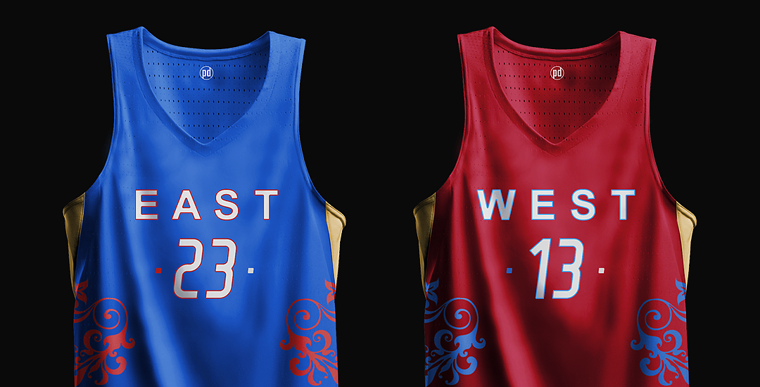 2017 Concept All-star Hooped – Nba Game Up Jerseys