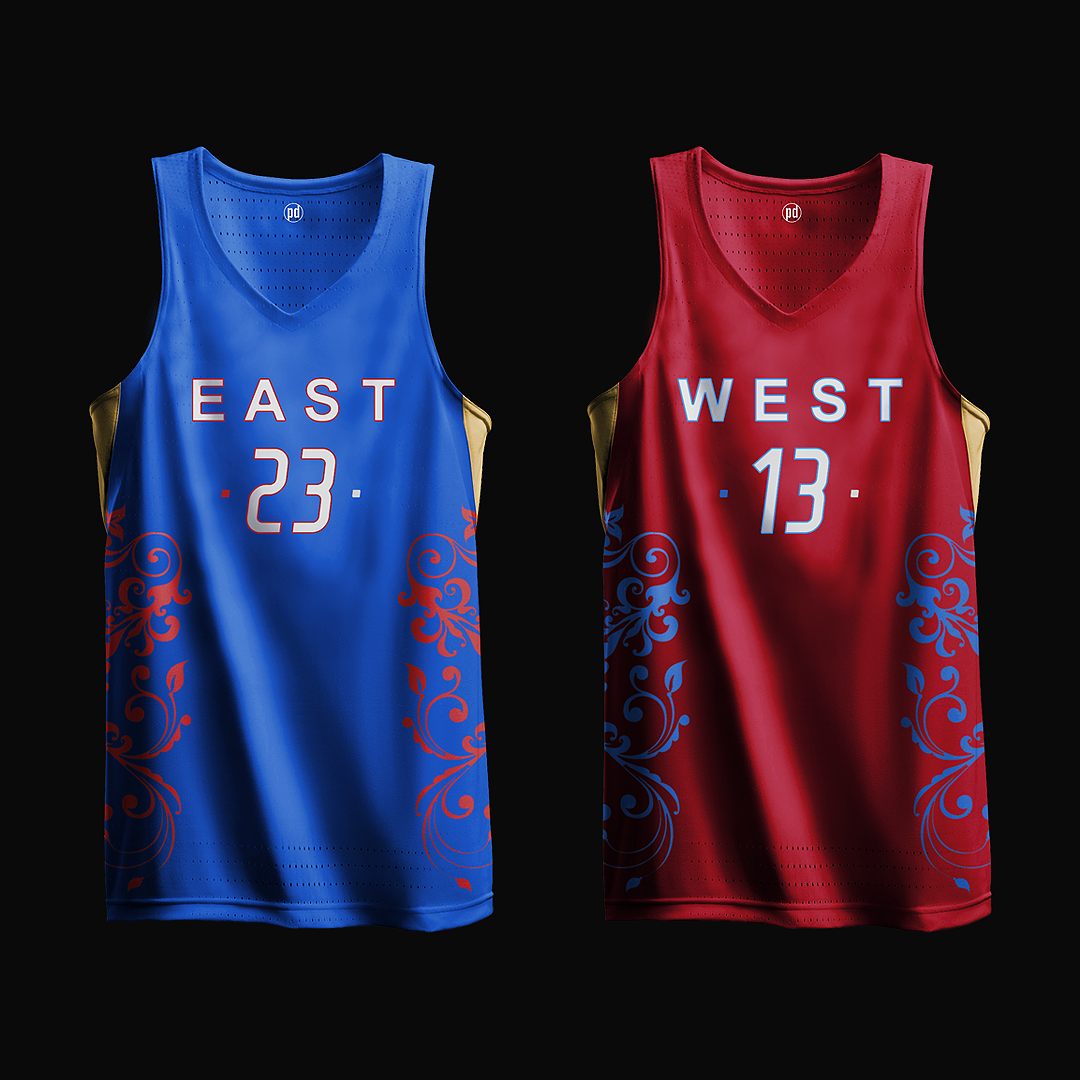 2017 NBA All-Star Game Concept Jerseys