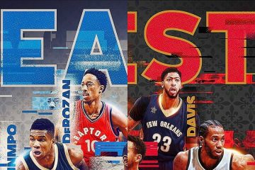 2017 NBA All-Star Game Starters Announced