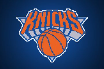 Throwback-ish 8 Bit NBA Logos