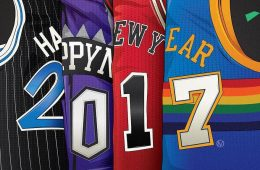 Happy New Year Jersey Illustration