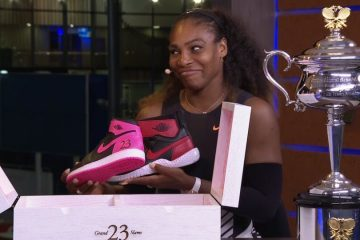 Michael Jordan Gifts Serena Williams Custom Air Jordans After Australian Open Win