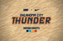 Mock Jordan Brand OKC Thunder Uniform Concepts
