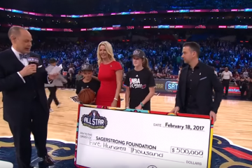 Celebrities and Players Raise $500K In Sager Shootout