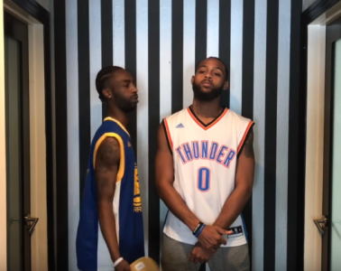 If Kevin Durant and Russell Westbrook Were Neighbours