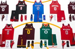 adidas Unveils 2017 March Madness Uniforms