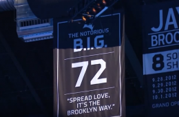 Brooklyn Nets Raise B.I.G to Banners