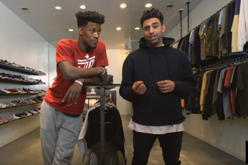 Jimmy Butler Goes Sneaker Shopping