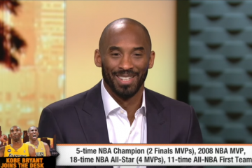 Kobe Bryant Sits Down With First Take