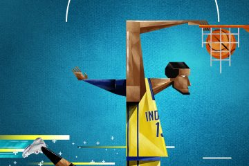 Paul George Know No Gravity Illustration