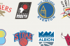 Premier League x NBA Logos