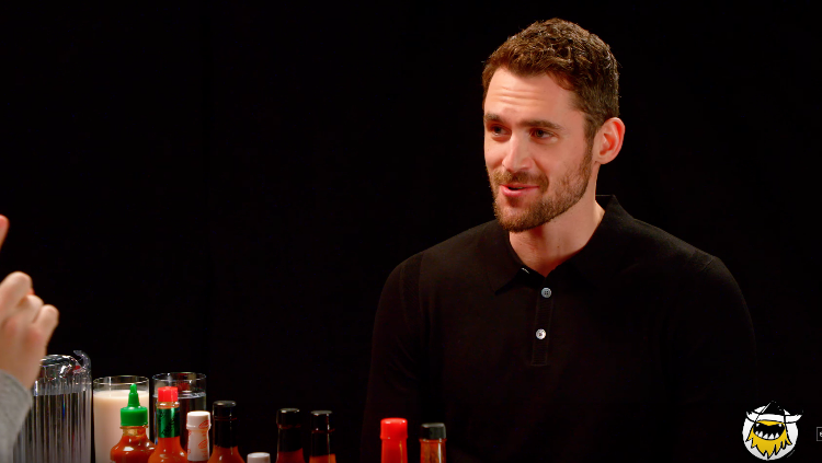 Kevin Love Does Hot Ones
