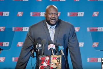 NBA 2K18 Cover Will Feature Shaquille O'Neal