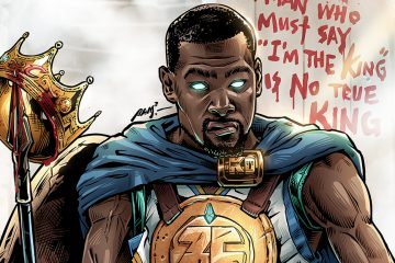 Kevin Durant Kingslayer Illustration