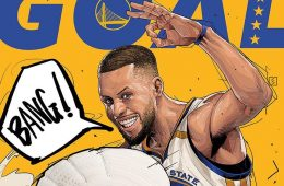 Stephen Curry BANG Illustration