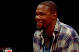 Kevin Durant Does Hot Ones